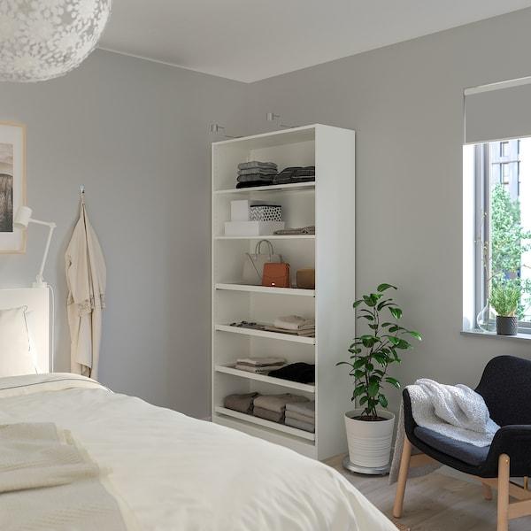 PAX Wardrobe, white, 100x35x201 cm