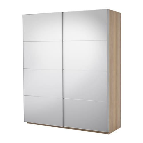 PAX Wardrobe with sliding doors IKEA 10 year guarantee.   Read about the terms in the guarantee brochure.