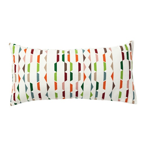 IKEA PENNINGGRÄS cushion The polyester filling holds its shape and gives your body soft support.