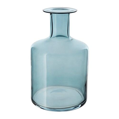 Pepparkorn Vase Blue 28 Cm Ikea