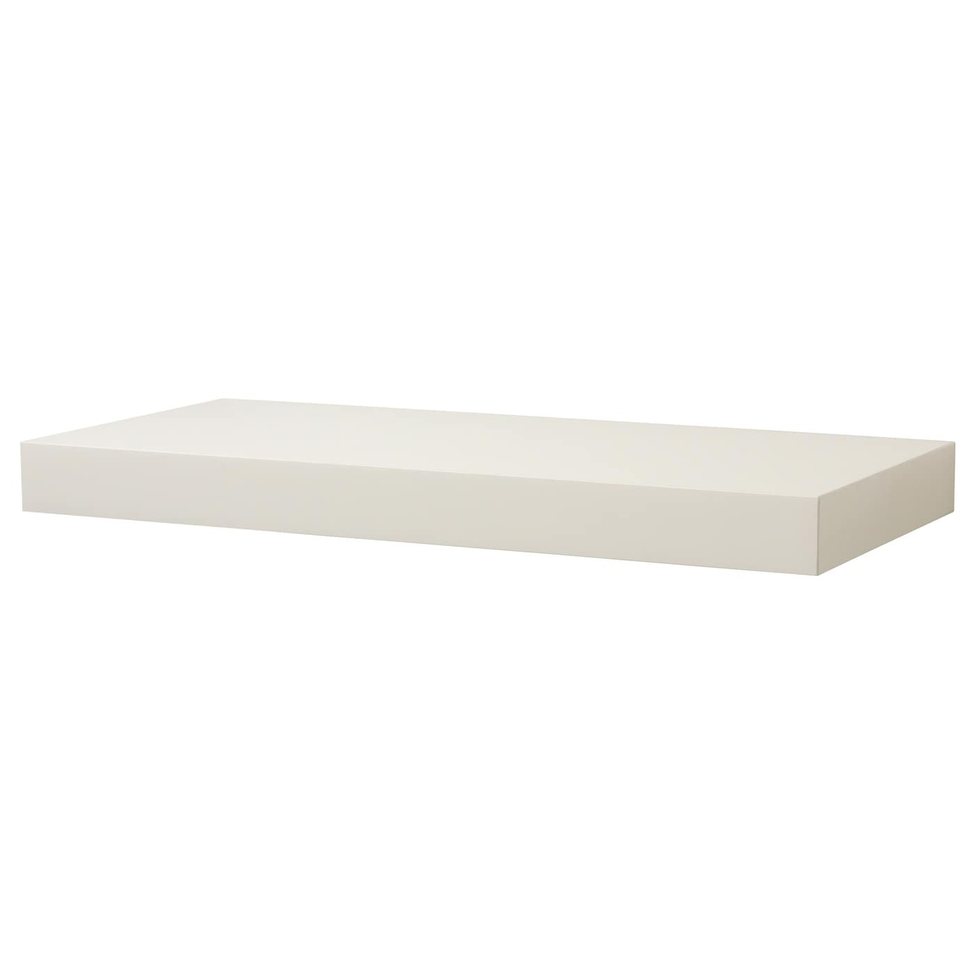 Persby wall shelf white 59x26 cm ikea - Tablette de lit ikea ...