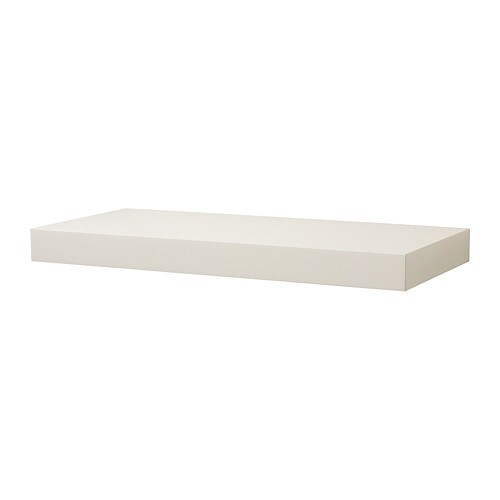 Persby wall shelf white ikea - Etageres blanches ikea ...