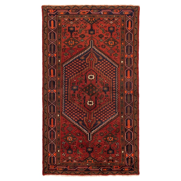 PERSISK HAMADAN Rug, low pile, handmade assorted patterns, 140x200 cm
