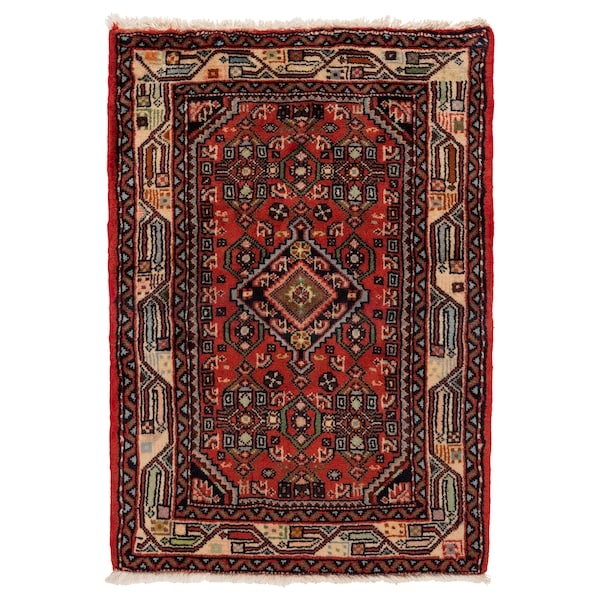 PERSISK HAMADAN Rug, low pile, handmade assorted patterns, 60x90 cm