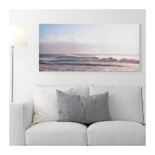 Pj tteryd picture clearing skies 120x56 cm ikea - Ikea tableau decoration ...