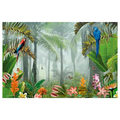 PJÄTTERYD picture Jungle 118 cm 78 cm