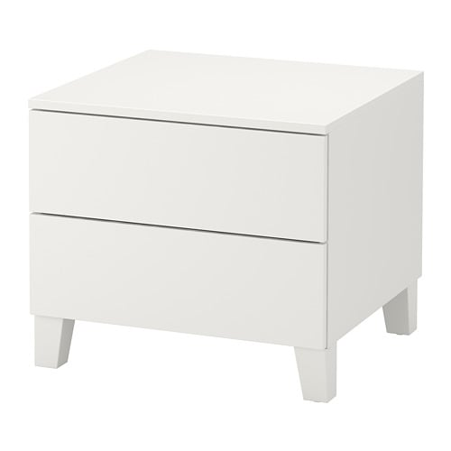platsa chest of 2 drawers white fonnes white 60 x 55 x 53 cm ikea. Black Bedroom Furniture Sets. Home Design Ideas