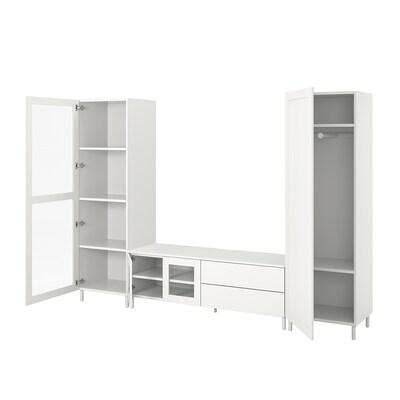 PLATSA media storage combination 280 cm 42 cm 191 cm 25 kg
