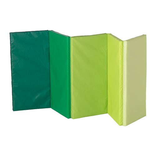 plufsig folding gym mat green 78x185 cm ikea. Black Bedroom Furniture Sets. Home Design Ideas