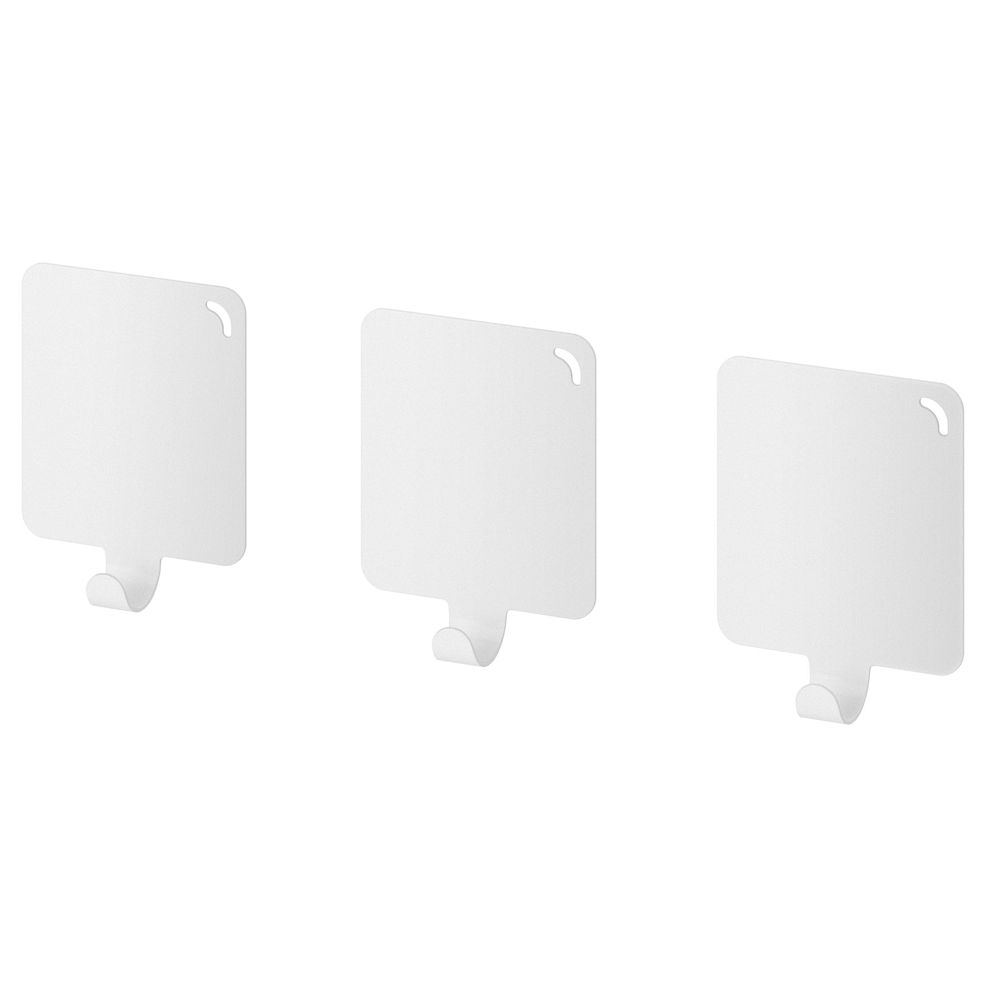 IKEA PLUTT hook, self-adhesive Easy to attach to the wall thanks to the self-adhesive tape.
