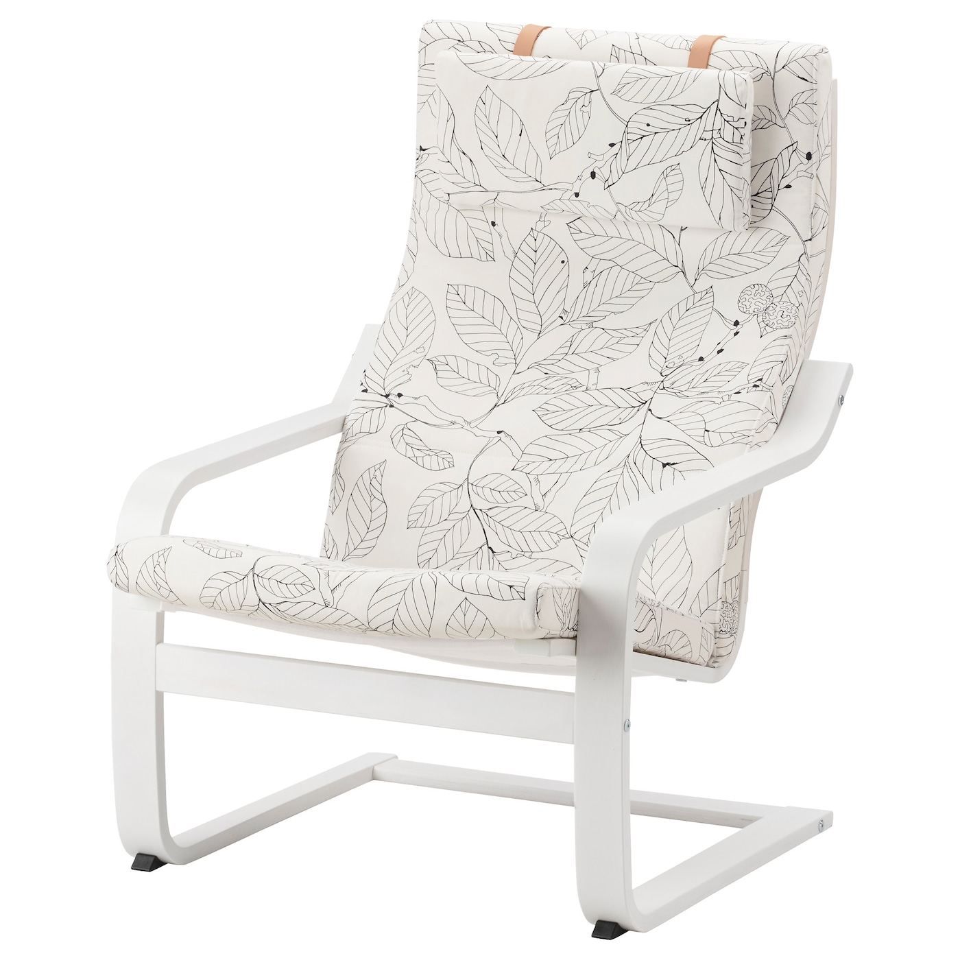 White comfy chairs - Ikea Po Ng Armchair The Cover Is Easy To Keep Clean As It Is Removable And Can
