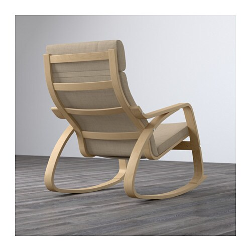 Po ng rocking chair birch veneer isunda beige ikea - Ikea varmdo rocking chair ...