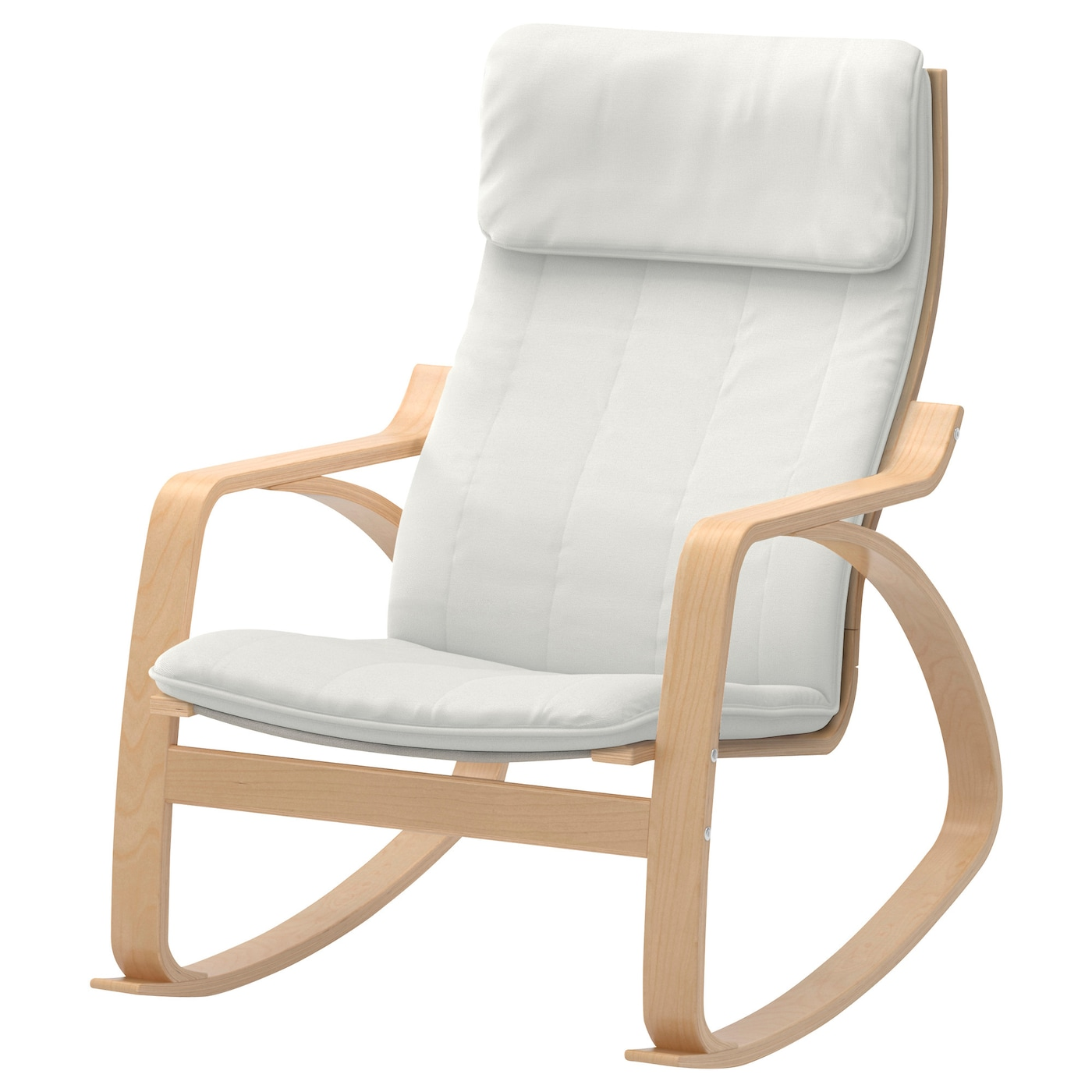 po ng rocking chair birch veneer ransta natural ikea. Black Bedroom Furniture Sets. Home Design Ideas
