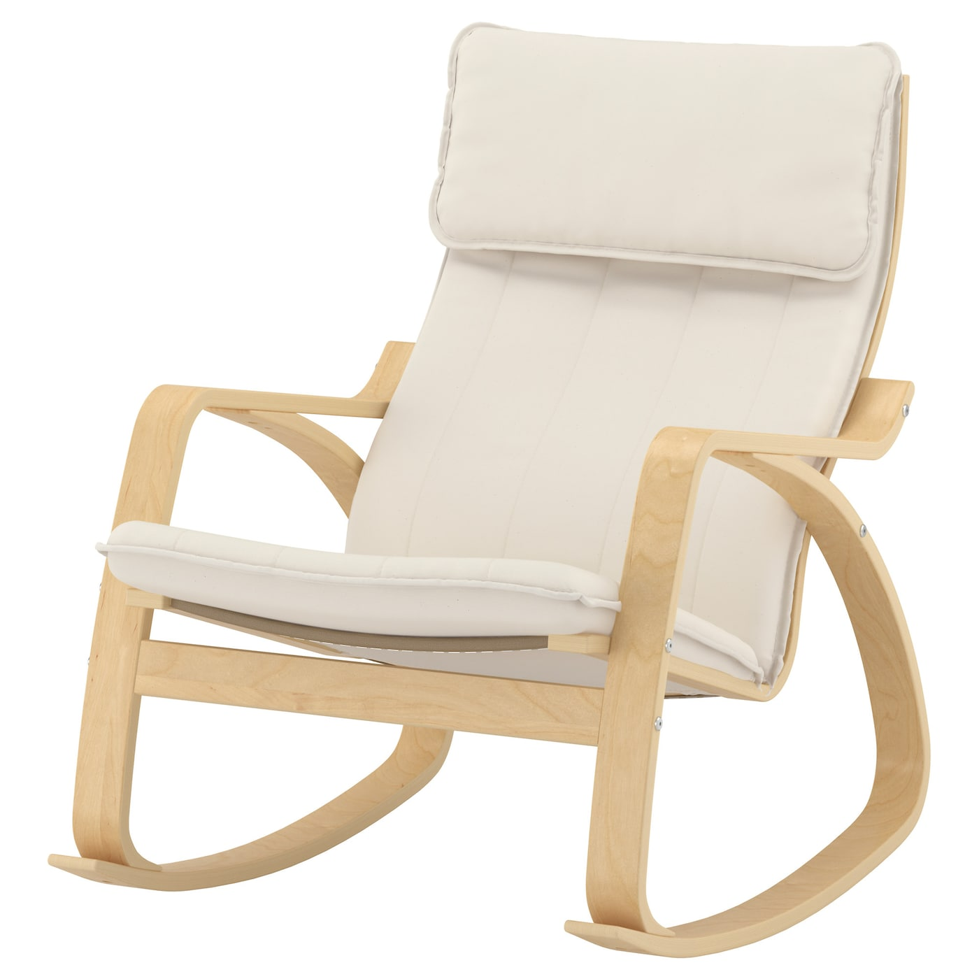 Po ng rocking chair birch veneer ransta natural ikea - Ikea varmdo rocking chair ...