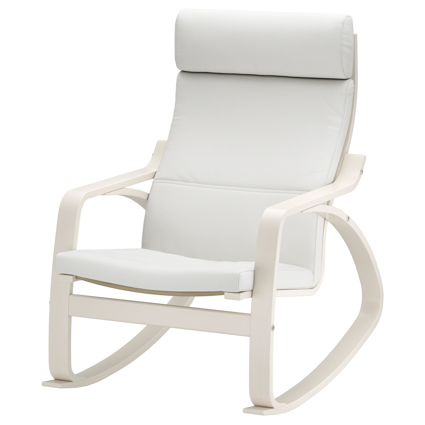 po ng rocking chair white finnsta white ikea. Black Bedroom Furniture Sets. Home Design Ideas