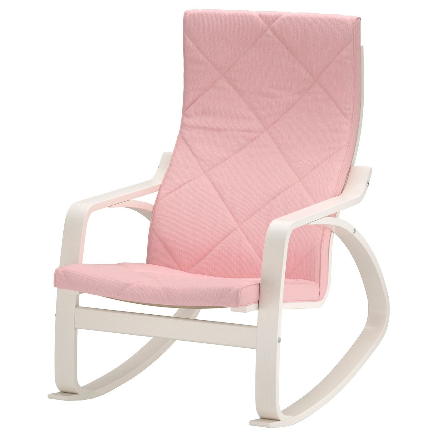po ng rocking chair white gr sbo pink ikea. Black Bedroom Furniture Sets. Home Design Ideas