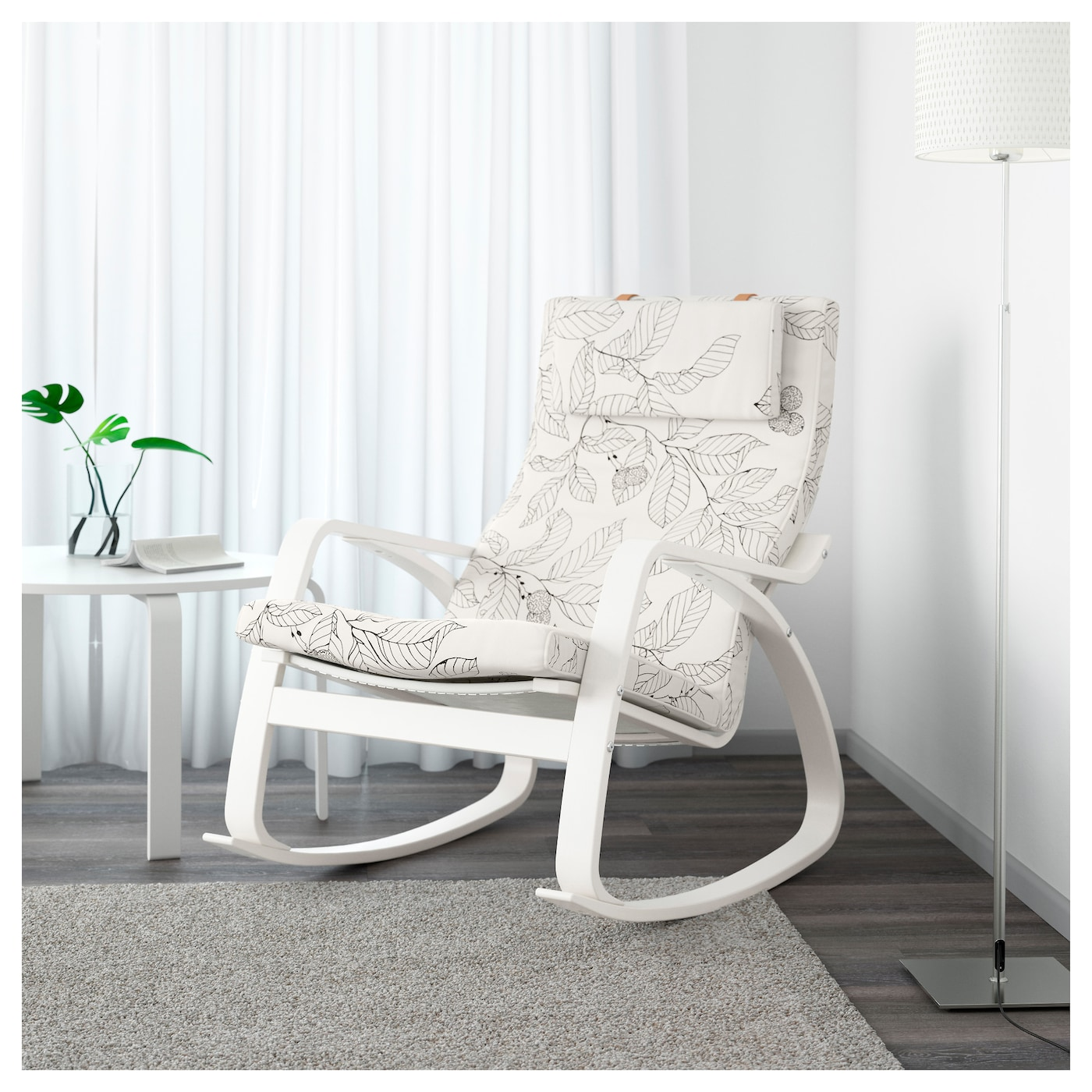 Nice IKEA POÄNG Rocking Chair The Cover Is Easy To Keep Clean As It Is Removable