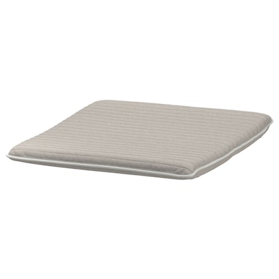 POÄNG Footstool cushion, Knisa light beige, 55x59 cm
