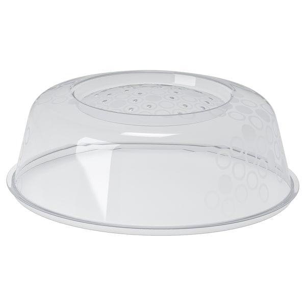 PRICKIG microwave lid grey 9 cm 26 cm
