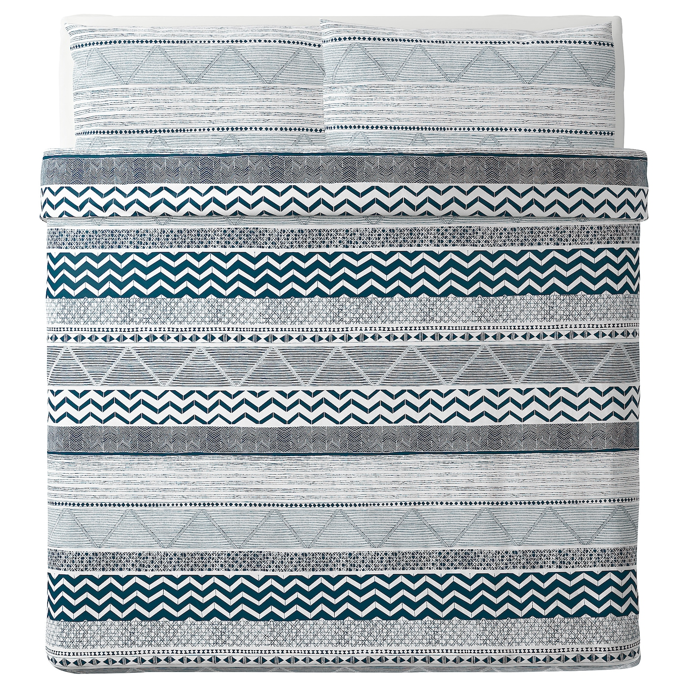 IKEA PROVINSROS quilt cover and 2 pillowcases