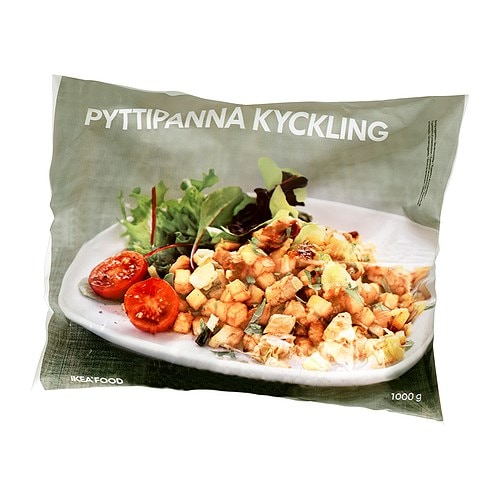 PYTTIPANNA KYCKLING Potato hash with chicken, frozen - IKEA