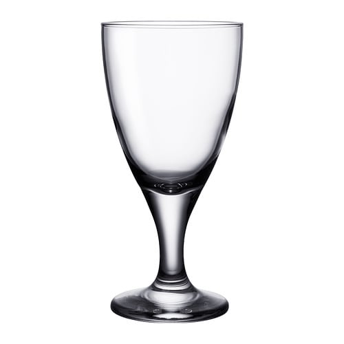 IKEA RÄTTVIK red wine glass