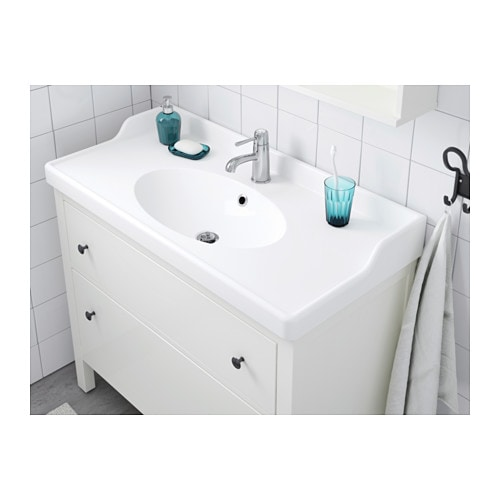 IKEA RÄTTVIKEN single wash-basin 10 year guarantee. Read about the terms in the guarantee brochure.
