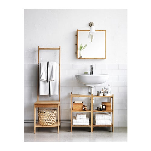 R grund towel rack chair bamboo ikea Towel storage ideas ikea