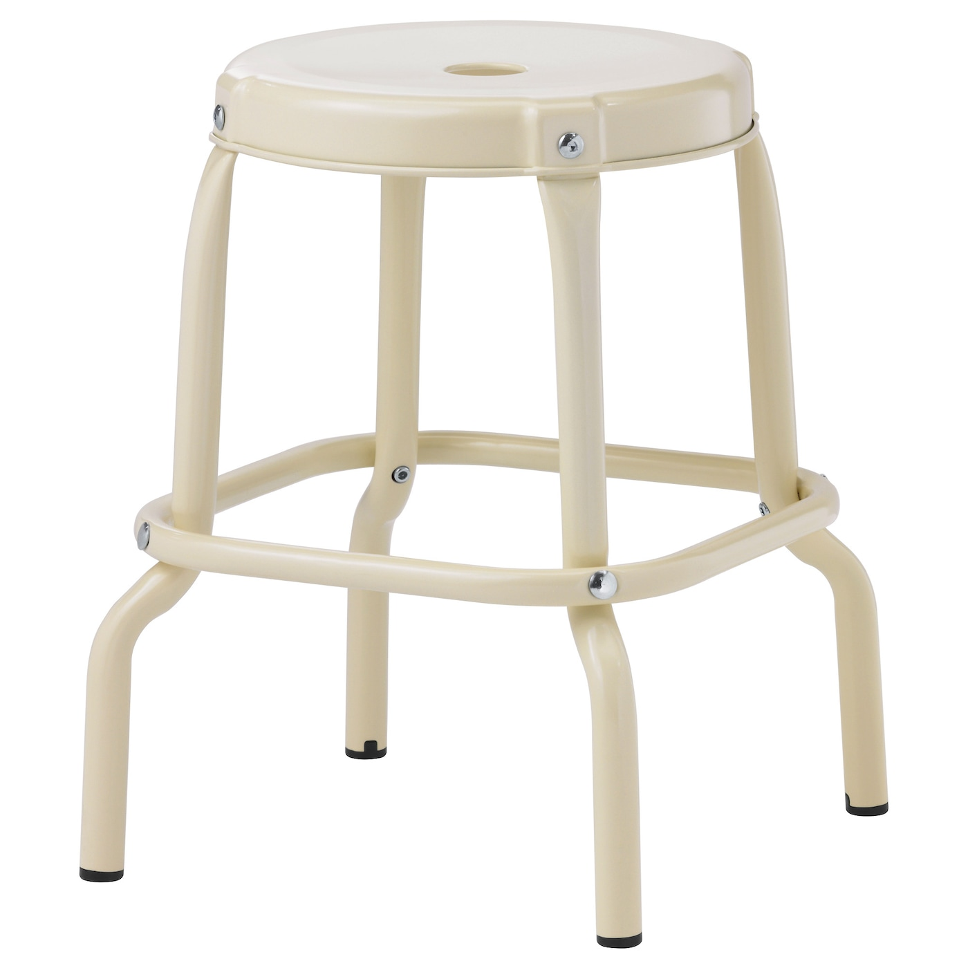 IKEA RÅSKOG stool Easy to move thanks to the hole in the seat.