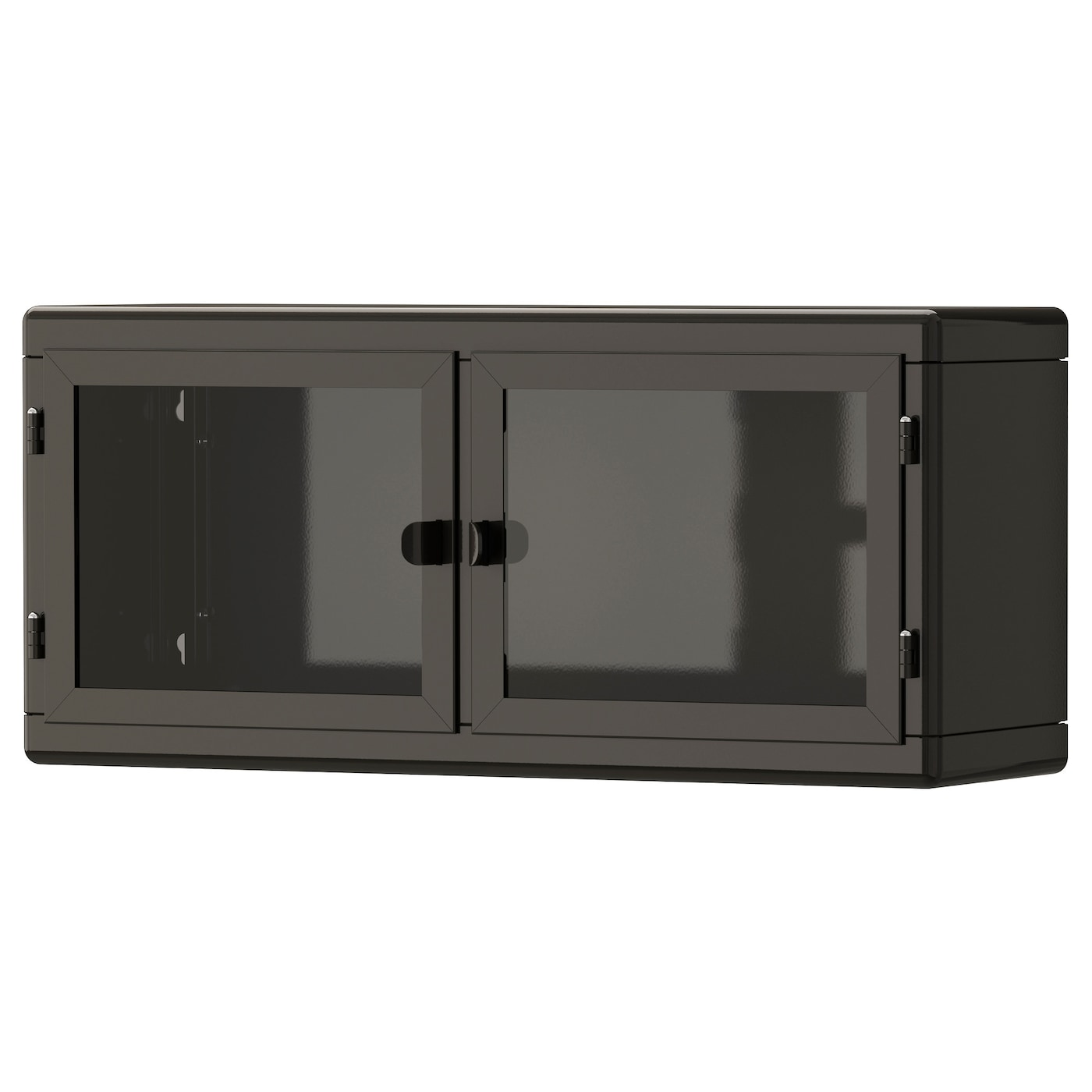 ikea wall cabinets kitchen r 197 skog wall cabinet grey glass 60x27 cm ikea 17758