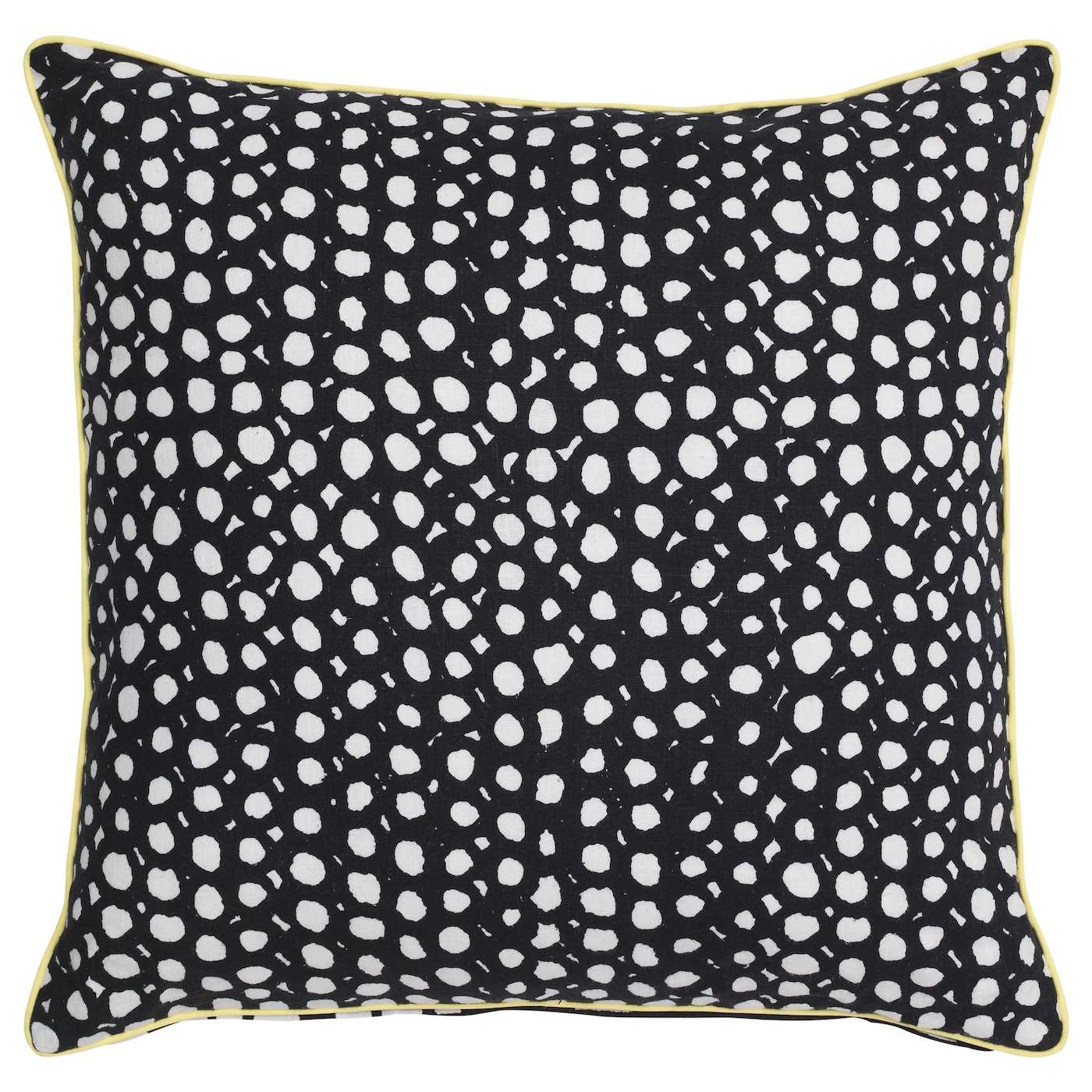 IKEA RÖDPLISTER cushion You can easily vary the look because the two sides have different designs.