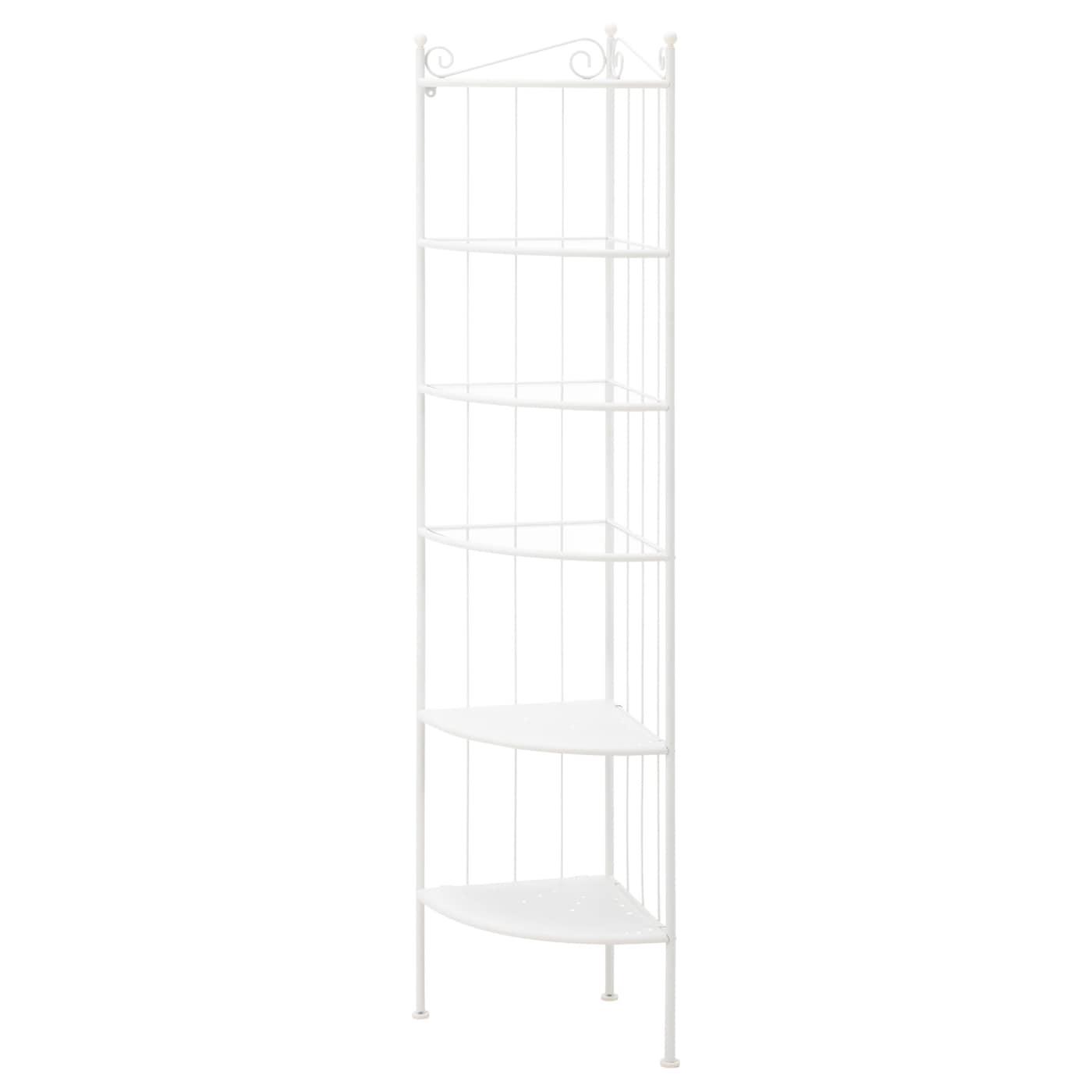 Ronnskar Corner Shelf Unit White Ikea