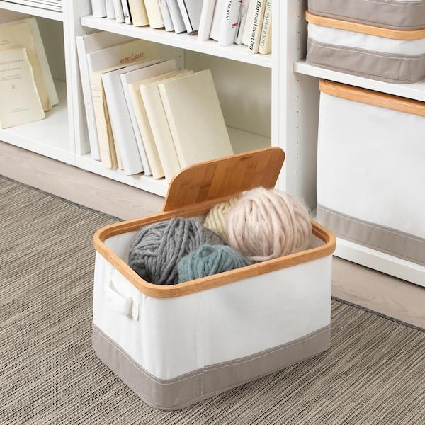 RABBLA box with lid 25 cm 35 cm 20 cm