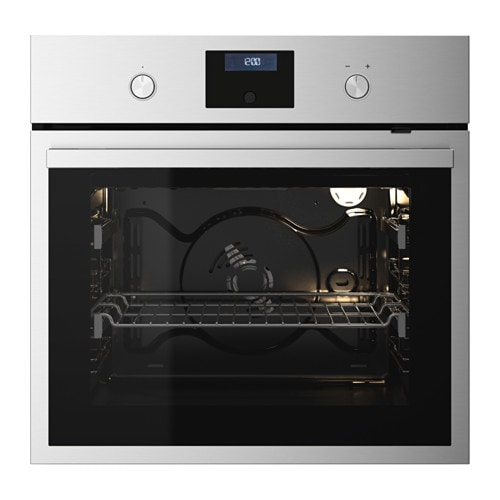 RAFFINERAD Forced air oven Stainless steel  IKEA