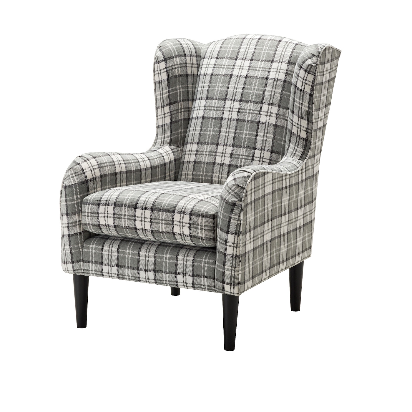 cream wingback armchair ramsebo wing chair ikea 13632 | ramsebo wing chair 0486509 pe622078 s5