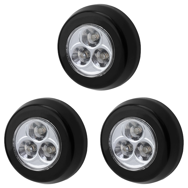 Ramsta Battery Operated Black Led