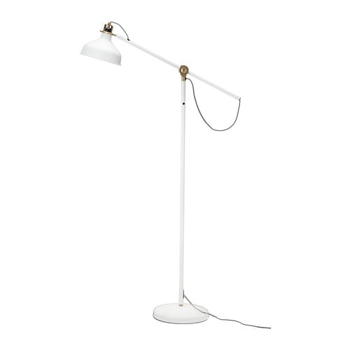 Ikea Schreibtisch Dunkelbraun ~ IKEA RANARP floor reading lamp Provides a directed light that is great