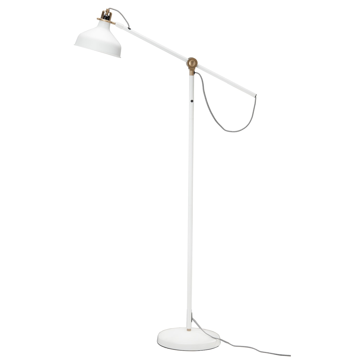 IKEA RANARP floor/reading lamp Provides a directed light that is great for reading.