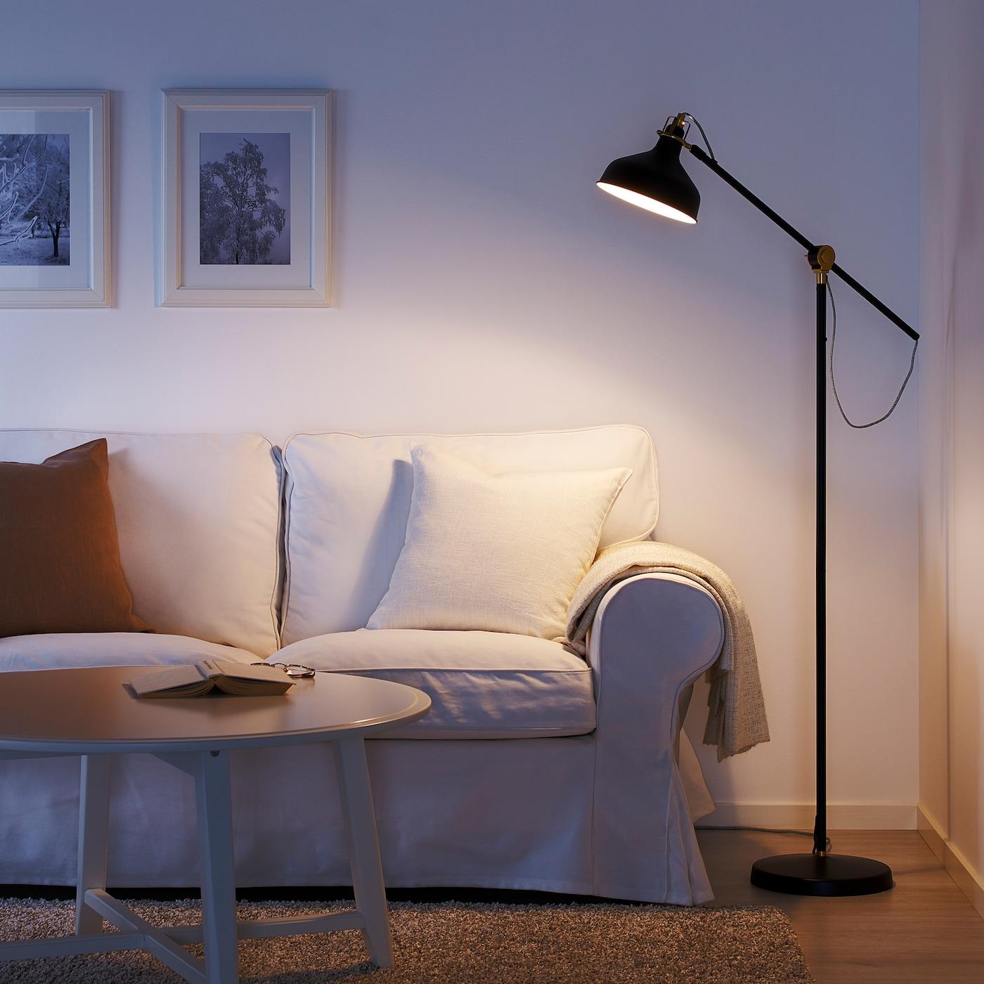 RANARP off white, Floorreading lamp IKEA