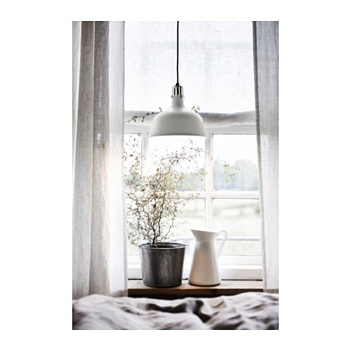 RANARP Pendant Lamp Off White 23 Cm