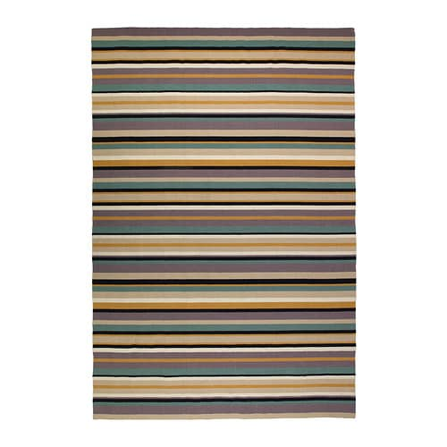 RANDLEV Rug, flatwoven IKEA The durable, soil-resistant wool surface makes this rug perfect in your living room or under your dining table.