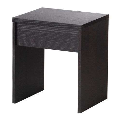 ransby stool black brown 40x33 cm ikea. Black Bedroom Furniture Sets. Home Design Ideas