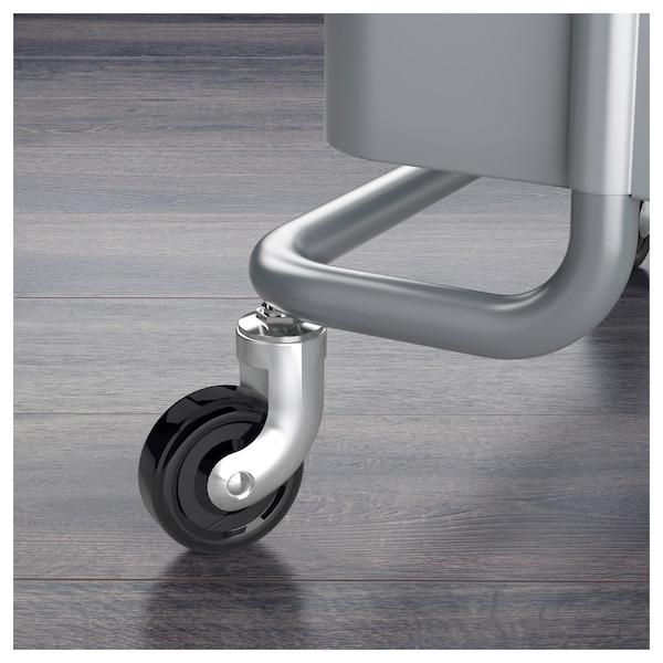 RÅSKOG Trolley, dark grey, 35x45x78 cm
