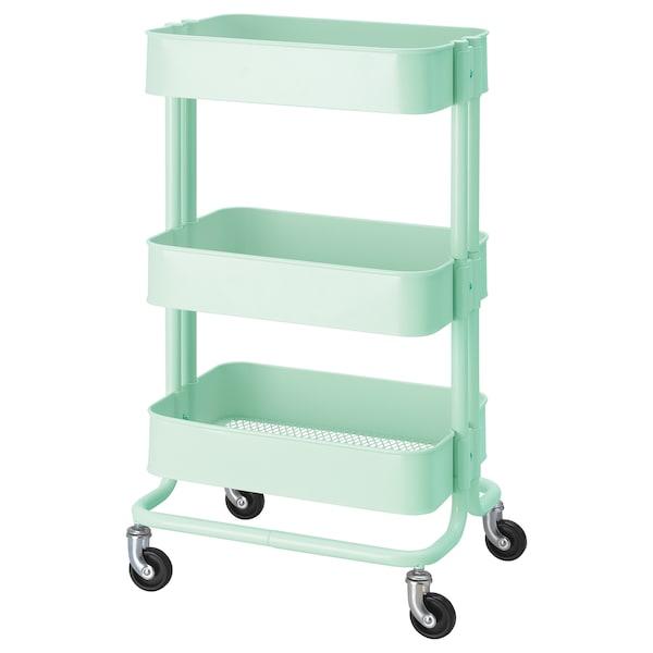 Light Green Trolley 35x45x78 Cm