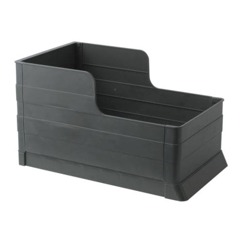RATIONELL Pull-out waste sorting tray IKEA Pulls out completely for easy access to bins.