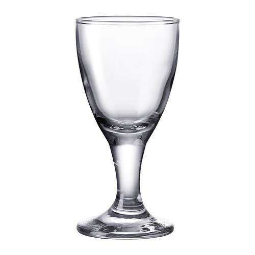RÄTTVIK Snaps-/liqueur glass IKEA The glass has a small bowl on a stem which keeps the snaps cold, enhancing your experience of the drink.