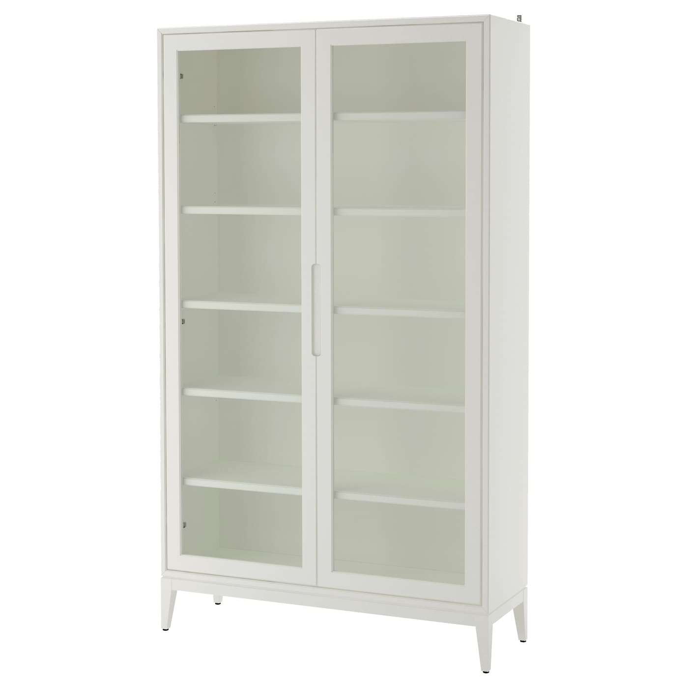 Charmant IKEA REGISSÖR Glass Door Cabinet Adjustable Shelves, So You Can Customise  Your Storage As