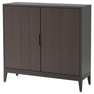 REGISSÖR Cabinet, brown, 118x110 cm
