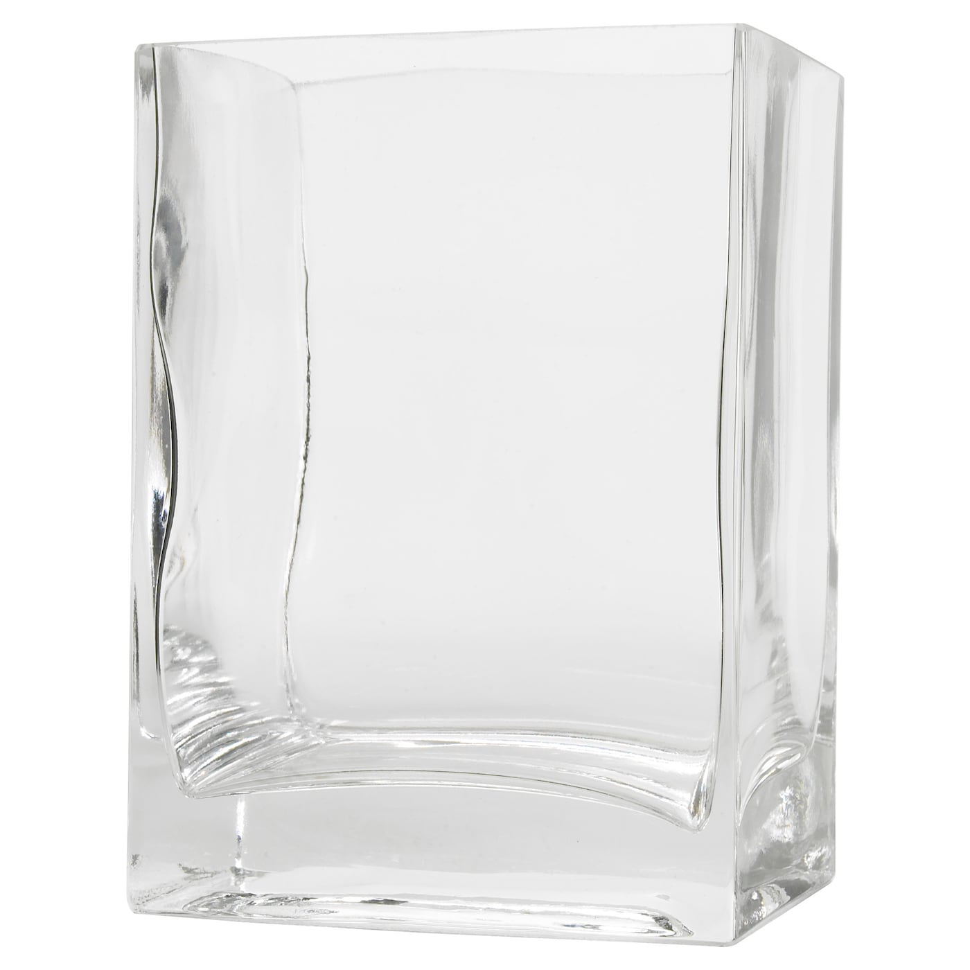 rektangel vase clear glass 14 cm ikea. Black Bedroom Furniture Sets. Home Design Ideas