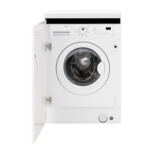 Renlig Integrated Washing Machine White A Ikea